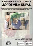 Cartell de l'acte en Homenatge a Jordi Vila Rufas