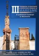 Portada III Trobada d'Entitats de recerca local i comarcal del Maresme