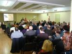 Imatge de la sala Galbany plena durant la Jornada