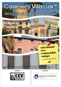 Cartell Visita Guiada pel Vilassar Históric